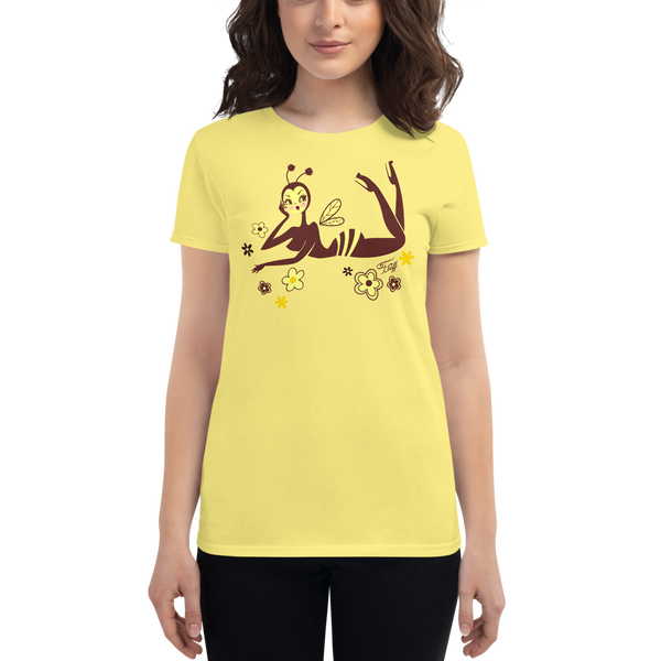 Bee Girl Lounging • Women's Tee