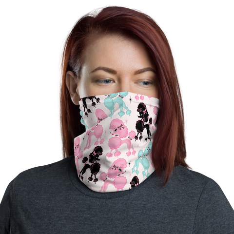 Poodlerama • Neck Gaiter Face Mask