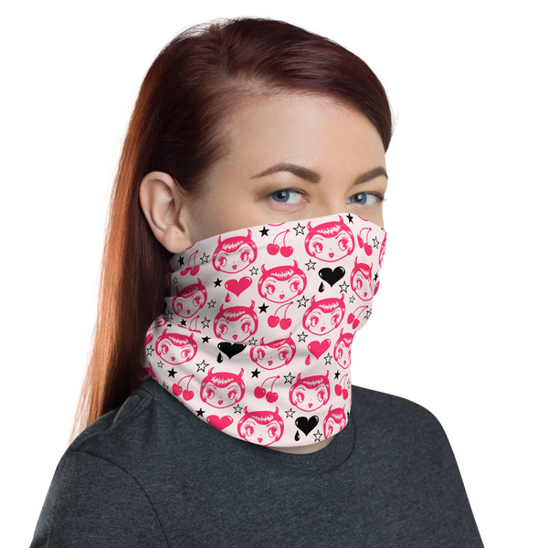 Devil Girl • Neck Gaiter Face Mask