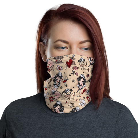 Suzy Sailor • Neck Gaiter Face Mask