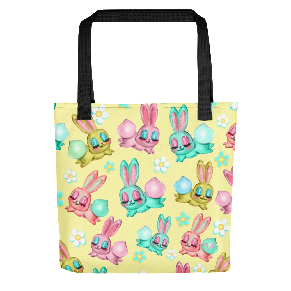 Bunnies and Daisies• Tote Bag