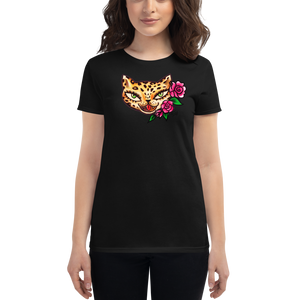 Lady Leopard Kitty • Women's Tee