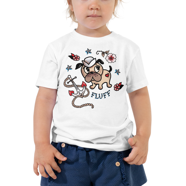 Monty Sailor Dog • Toddler Short Sleeve Tee