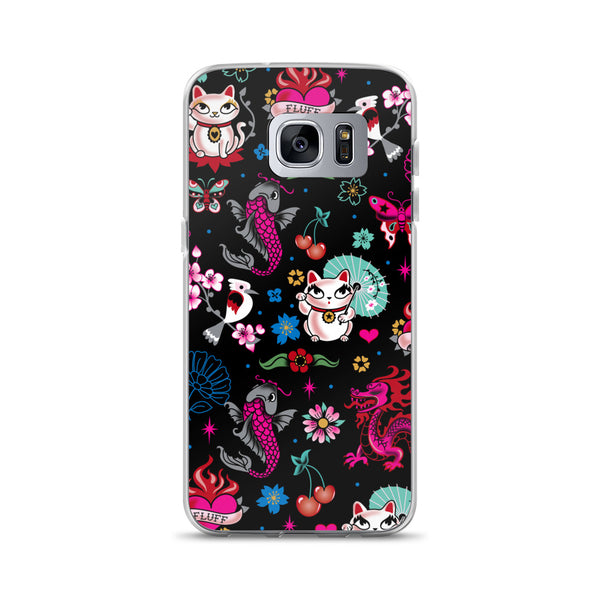 Lucky Kitty • Samsung Case