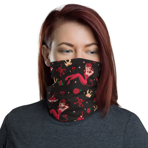 Devilette • Neck Gaiter Face Mask