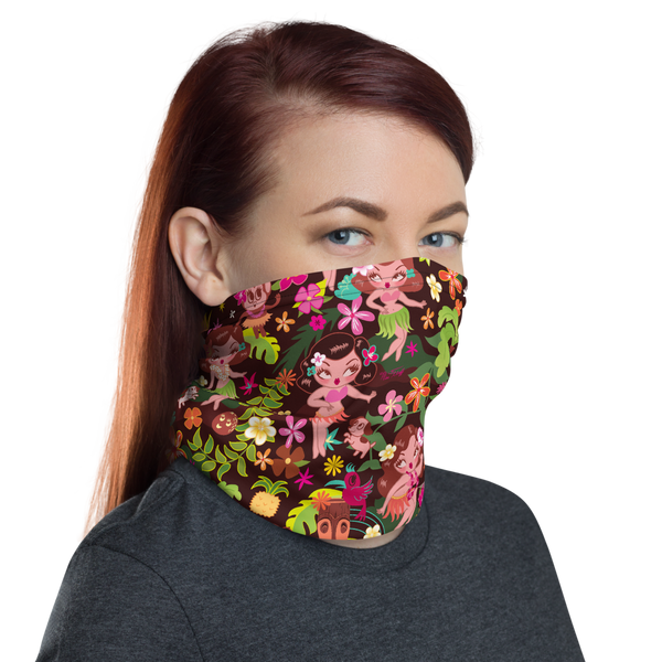 Hula Cuties • Neck Gaiter Face Mask