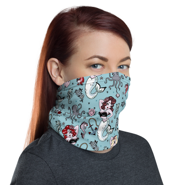 Molly Mermaid • Neck Gaiter Face Mask