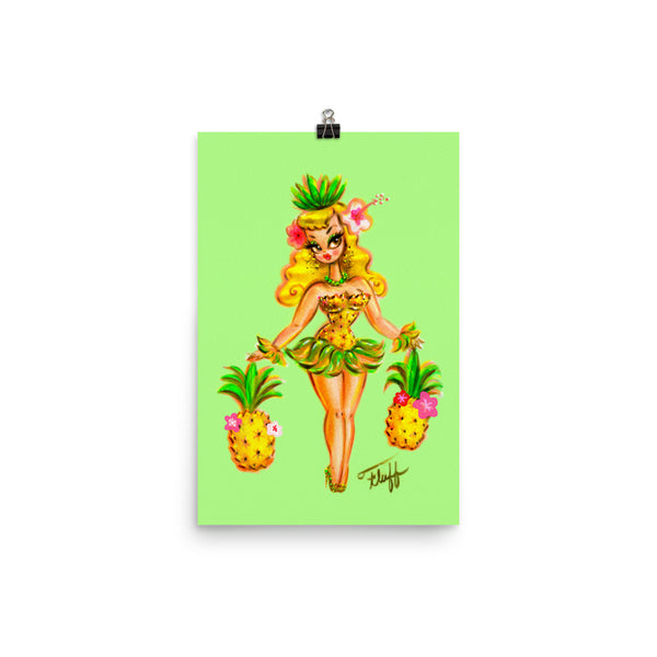 Pineapple Girl • Art Print