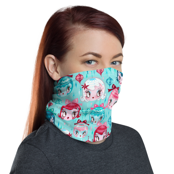 Dolly Ornaments • Neck Gaiter Face Mask