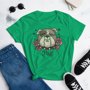 Boris Bulldog • Women's T-Shirt