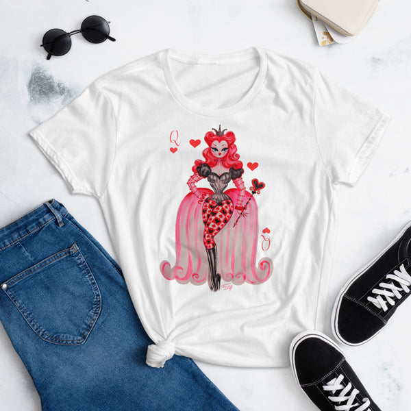 Queen of Hearts • Women's T-Shirt