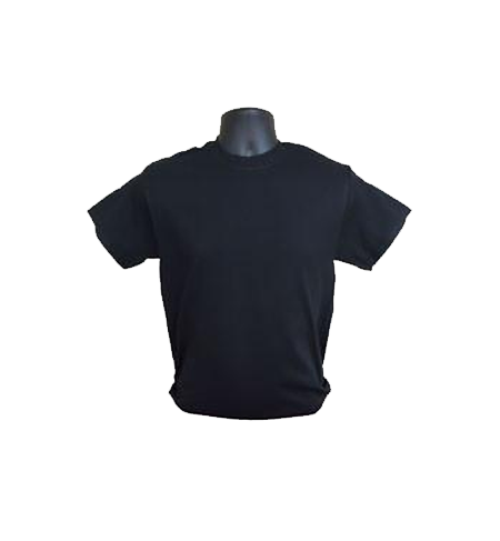Short Sleeve Black Tee