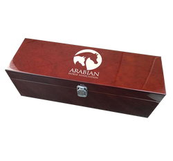 AHA Rosewood Bottle Box