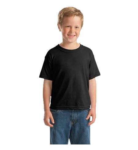 YOUTH BLACK SS TEE