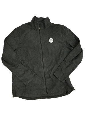 AHA Heather Microfleece Jacket Small