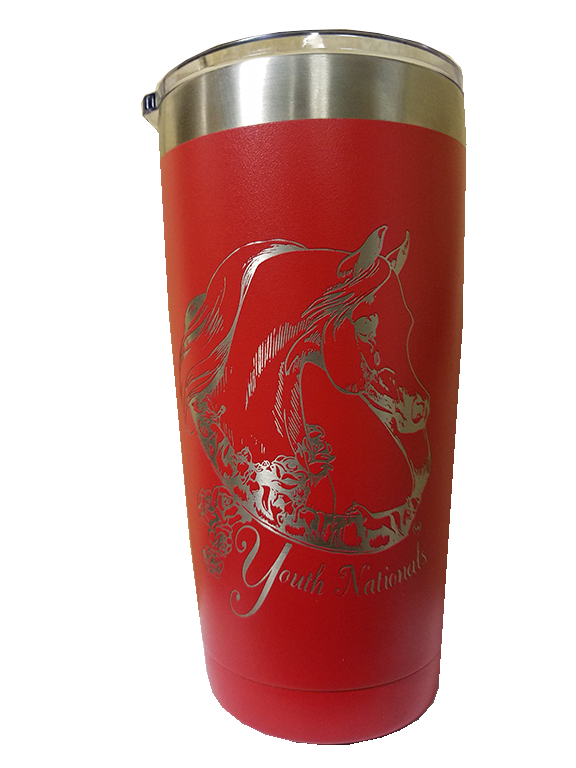 Youth Nationals Red Polar 20 oz Tumbler