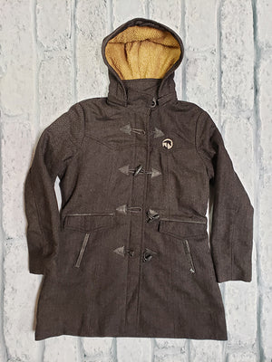 AHA Ladies Black Tweed Paddington Jacket