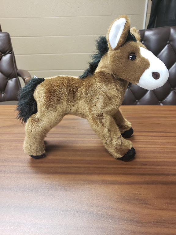 "8"" Classic Charms Horse (Brown)"