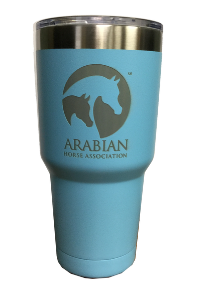 30oz Light Blue Polar Tumbler AHA