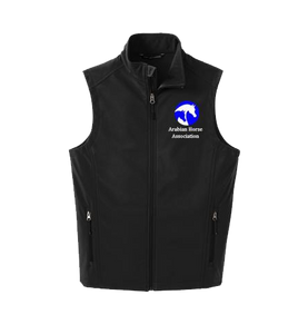 Men's Black AHA Soft Shell Vest