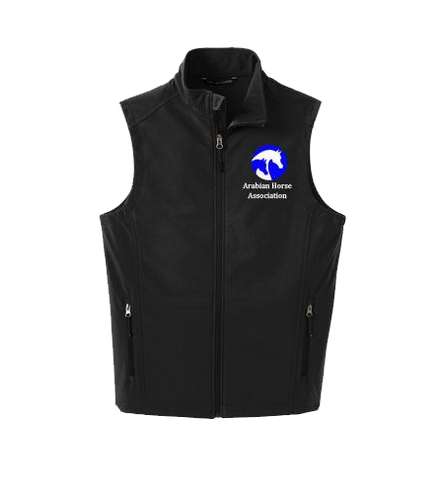 Black Ladies Soft Shell Vest
