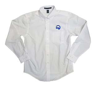 AHA Men's White Button-down