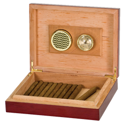 AHA Rosewood Piano Finish Humidor Box