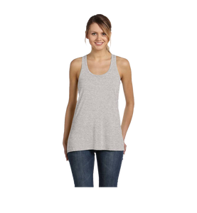 Sport Grey Flowy Tank Top