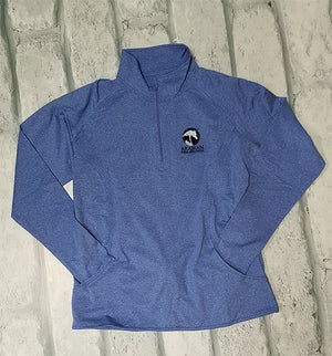 AHA Sportwick 1/4 Zip True Royal Heather