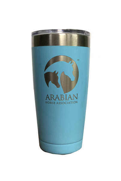 20 oz Polar Tumbler Light Blue AHA