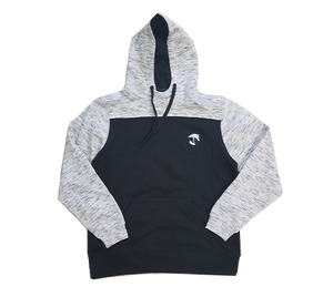 AHA Men's 2 Tone Black and White Hoodie