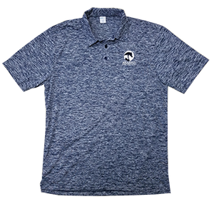 AHA Electric Navy Polo
