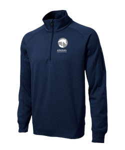 AHA Navy Fleece 1/4 Zip