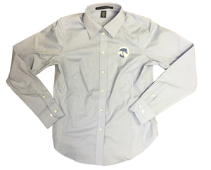 AHA Light Blue Oxford Ladies Buttondown