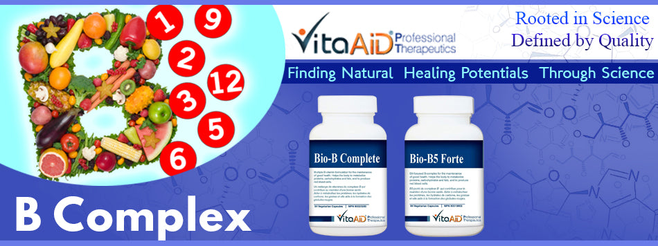 VitaAid category banner B Complex