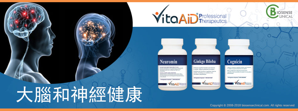 VitaAid category banner 大腦和神經健康