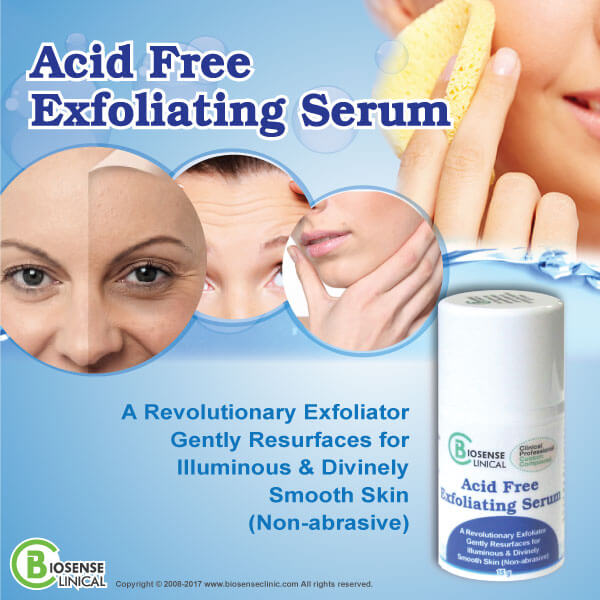BiosenseClinical Acid Free Exfoliating Serum mobile banner