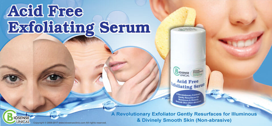 BiosenseClinical Acid Free Exfoliating Serum banner