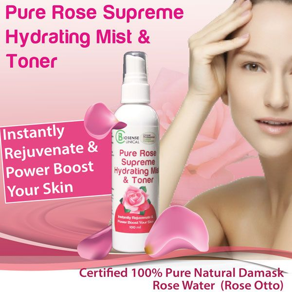 BiosenseClinical Professional Custom Compound Pure Rose Supreme Hydrating Mist & Toner product mobile banner