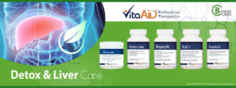 VitaAid category banner detox liver care