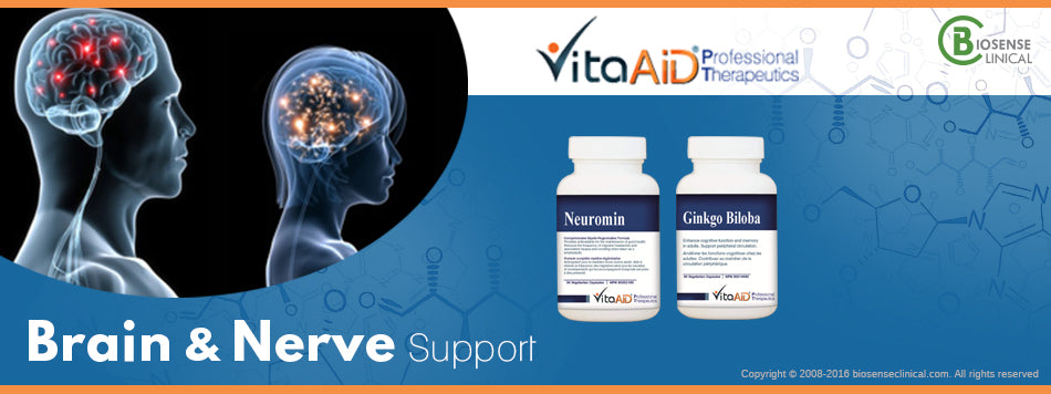 Vitaaid Brain and Nerve support line
