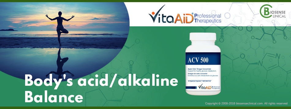VitaAid category banner Body's acid & alkaline balance