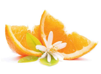 neroli floral water sample