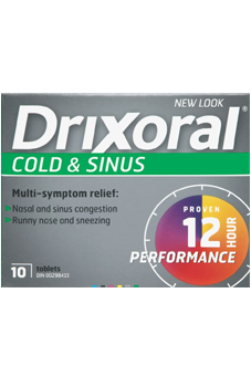 Drixoral Cold and Sinus - Biosense Clinic