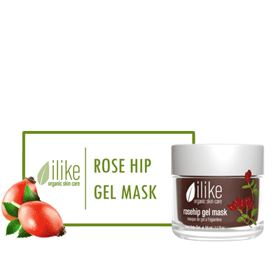 Ilike Gel Mask - Rosehip - Biosense Clinic
