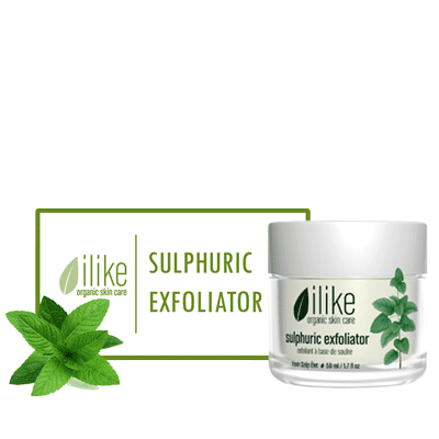 Ilike Gel Mask - Sulphuric Exfoliating - Biosense Clinic