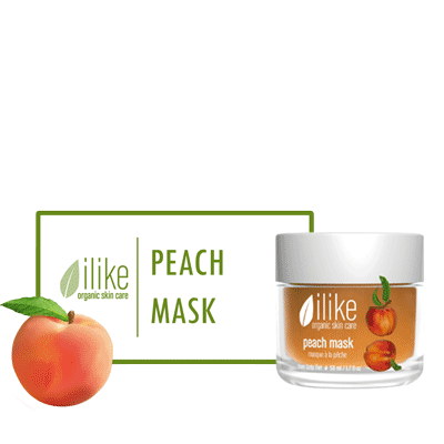 Ilike Gel Mask - Peach - Biosense Clinic
