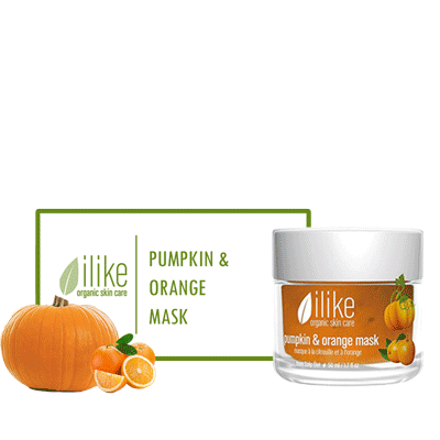 Ilike Gel Mask - Pumpkin & Orange - Biosense Clinic