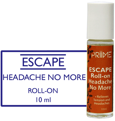 Priime Escape Roll-On Headache No More - Biosense Clinic