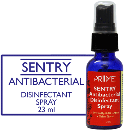 Priime Sentry Antibacterial Disinfectant Spray - Biosense Clinic